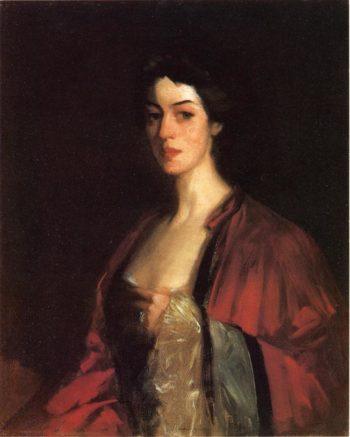 Portrait of Katherine Cecil Sanford | Robert Henri | oil painting