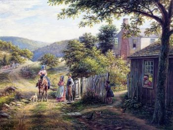 In East Tennessee | Edward Lamson Henry | oil painting