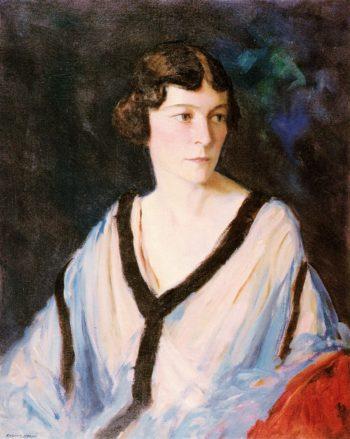 Portrait of Mrs Edward H (Catherine) Bennett | Robert Henri | oil painting