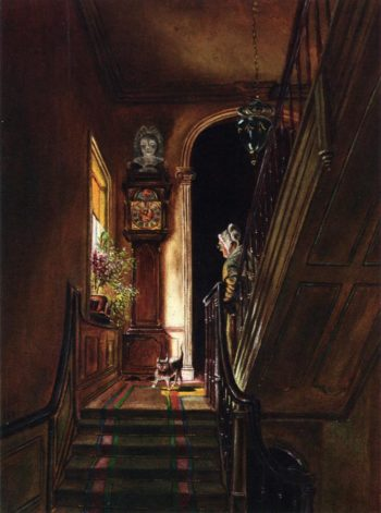 Interior at Petworth | Edward Lamson Henry | oil painting