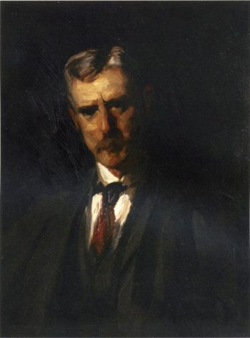 Portrait of Thomas Anschutz | Robert Henri | oil painting