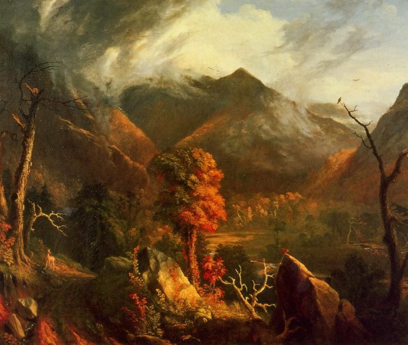 Peace at Sunset (also known as Evening in the White Mountains) | Thomas Cole | oil painting