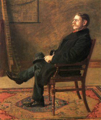 Frank Jay St. John | Thomas Eakins | oil painting