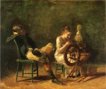 The Courtship | Thomas Eakins | oil painting