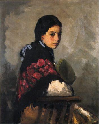 Spanish Girl | Robert Henri | oil painting