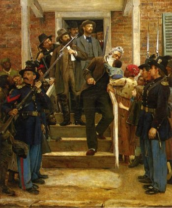 The Last Moments of John Brown | Thomas Hovenden | oil painting