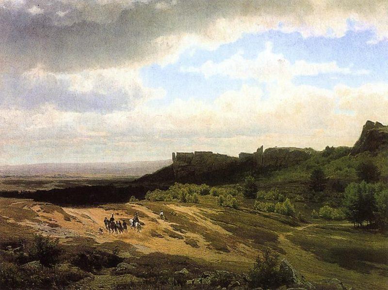 From the Hartz Mountains | Thomas Worthington Whittredge | oil painting