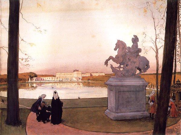 Versailles At Kouros 1897 | Alexander Benois | oil painting