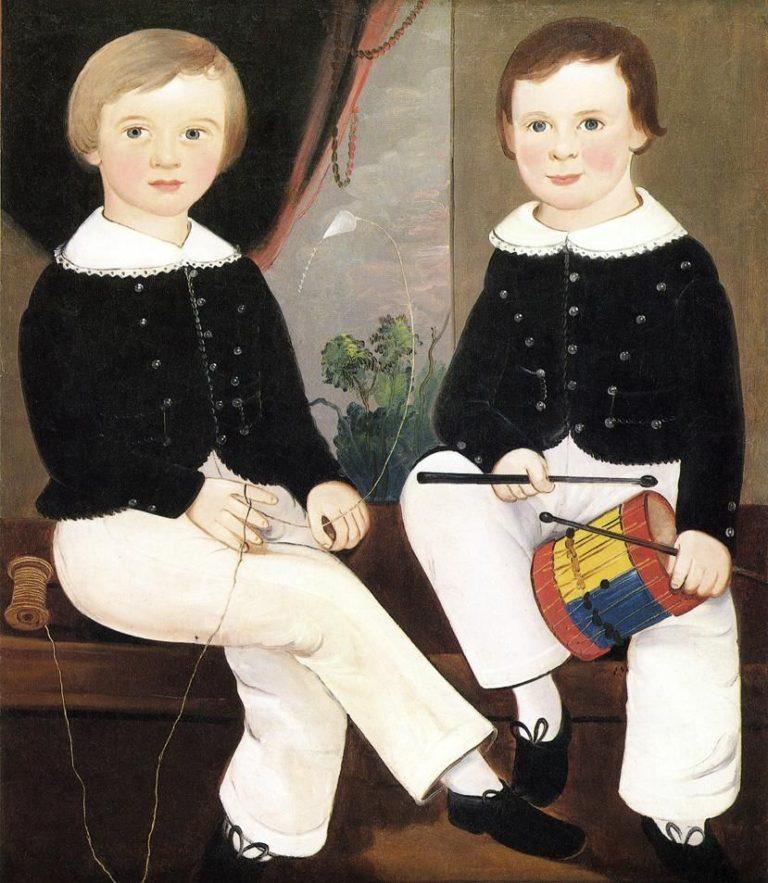 Isaac Josiah and William Mulford Hand | William Matthew Prior | oil painting