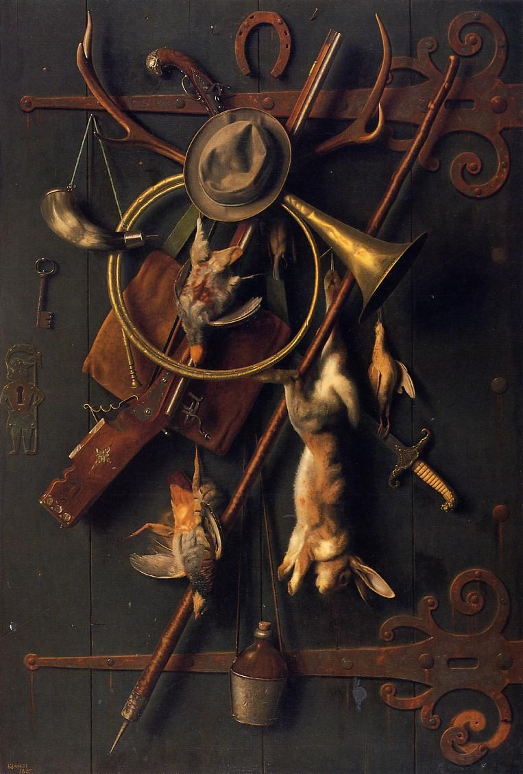 After the Hunt | William Michael Harnett Sargent | oil painting