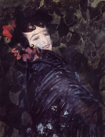Spanish Woman 1902 | Alexander Golovin | oil painting