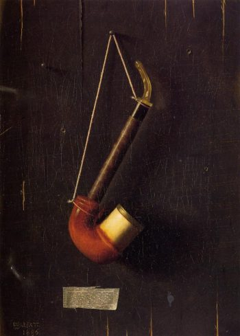 The Meerschaum | William Michael Harnett | oil painting