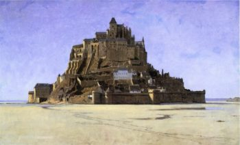 Mont Saint Michel | William Stanley Haseltine | oil painting