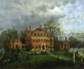 The Old Westover House | Edward Lamson Henry | oil painting