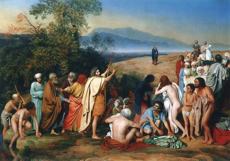The Appearance of Christ to the People 1837 1857 | Alexander Ivanov | oil painting