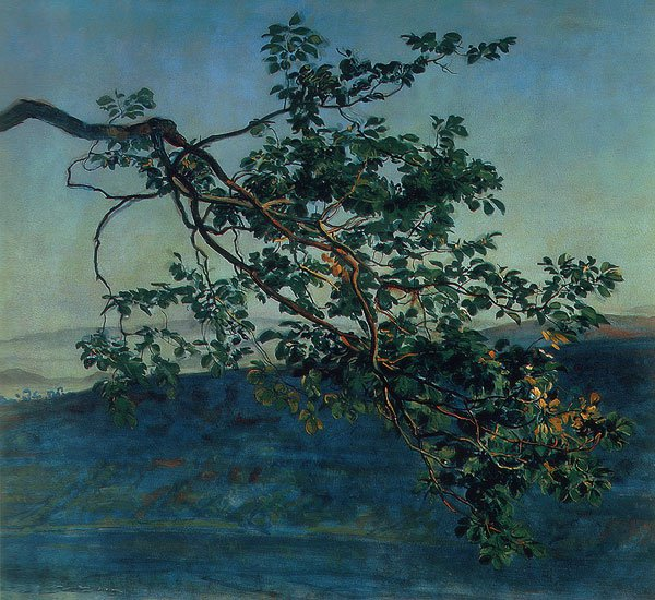 The Branch   Alexander Ivanov   oil painting
