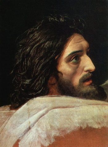 The Head of John the Baptist | Alexander Ivanov | oil painting
