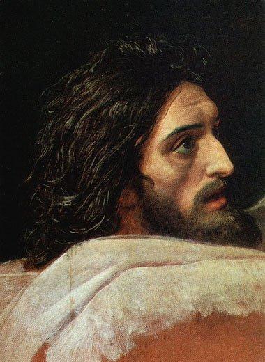 The Head of John the Baptist | Alexander Ivanov | oil painting