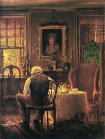 The Widower | Edward Lamson Henry | oil painting