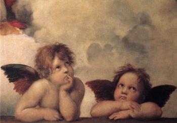 Sistine Cherubs | Raphael | oil painting