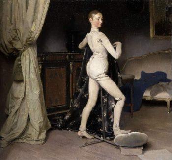Posing | Alan Beeton | oil painting