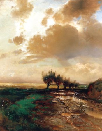 The Country Road 1873 | Alexey Savrasov | oil painting