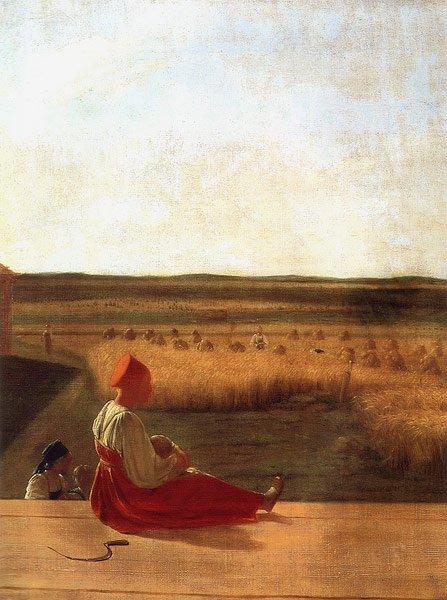 Harvest Summer 1820s | Alexey Venetsianov | oil painting