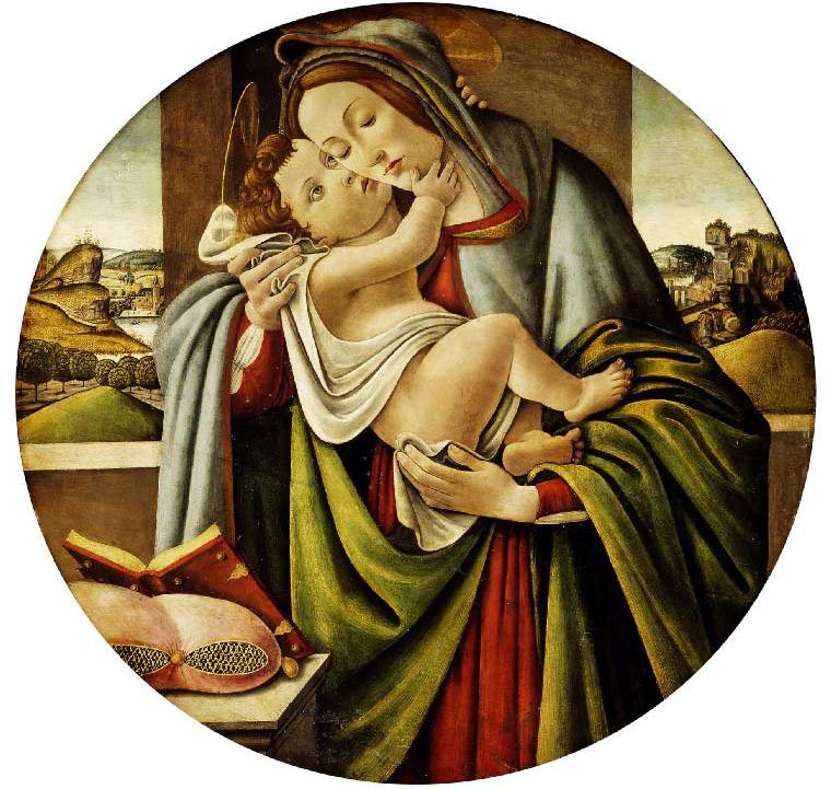 Virgin and Child | Botticelli (Alessandro di Mariano Filipepi) | oil painting