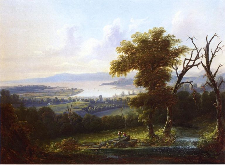 A Dream of New England | Hermann Fuechsel | oil painting