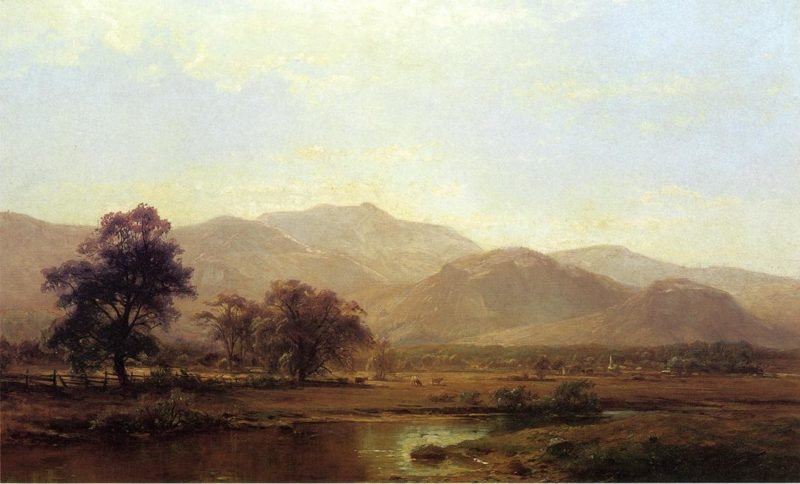 Vermont Mountain Range | Hermann Fuechsel | oil painting