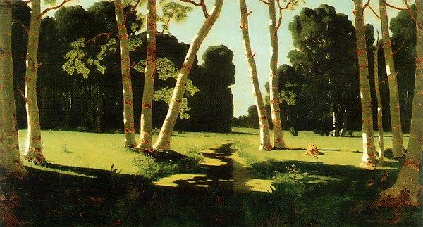 Birch Grove 1879 | Arkhip Kuinji | oil painting
