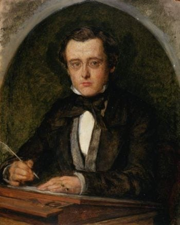 Wilkie Collins (1853) | Charles Allston Collins | oil painting