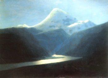 Mount Elbrus 1898 1908 | Arkhip Kuinji | oil painting