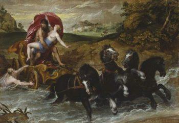 The Rape of Proserpine | Christoph Schwarz | oil painting