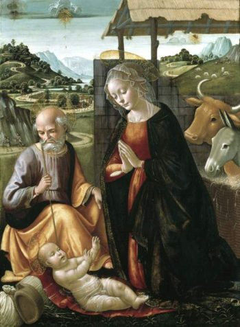 The Nativity | Domenico Ghirlandaio | oil painting
