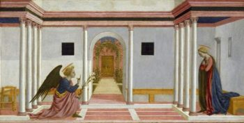 The Annunciation | Domenico Veneziano (Domenico di Bartolomeo da Venezia) | oil painting