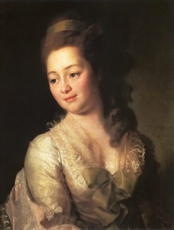 Portrait of Maria Dyakova 1778 | Dmitry Levitsky | oil painting