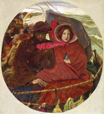 The Last of England (1860) | Ford Madox Brown | oil painting