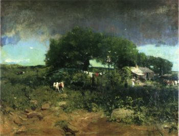 Homesteading in Tennessee | William Gilbert Gaul | oil painting