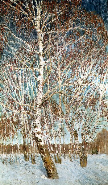 February Azure 1904 | Igor Grabar | oil painting