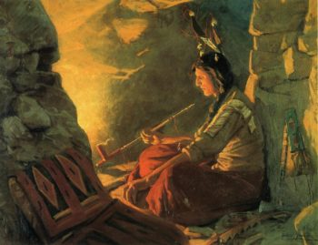 Indian Meditation | William Gilbert Gaul | oil painting
