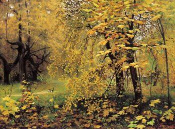 Golden Autumn 1887 | Ilya Ostroukhov | oil painting