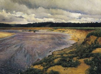 The North Wind 1890 | Ilya Ostroukhov | oil painting