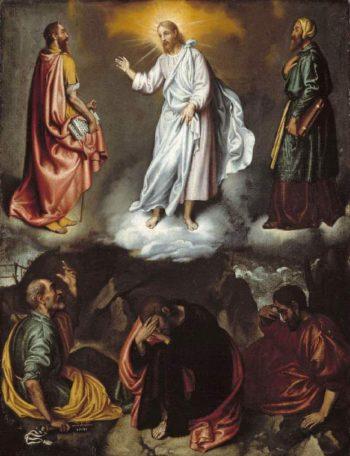 The Transfiguration | Giovanni Battista Moroni | oil painting