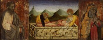 The Entombment of the Virgin | Giovanni di Paolo | oil painting