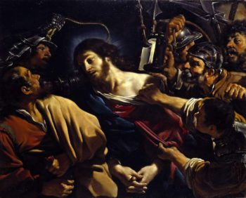 The Betrayal of Christ (1621) | Giovanni Fyrancesco Barbieri | oil painting