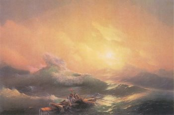 The Ninth Wave 1850 | Ivan Aivazovsky | oil painting