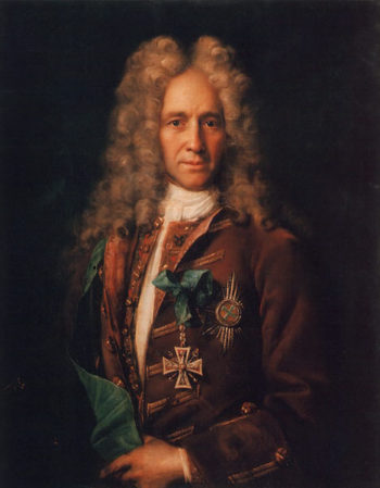 Portrait of Count Gavriil Golovkin 1720s | Ivan Nitkin | oil painting