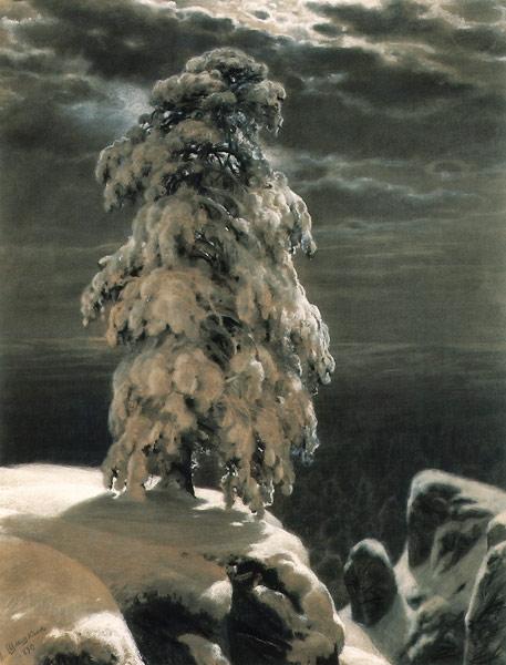 In the Wild North 1891 | Ivan Shishkin | oil painting