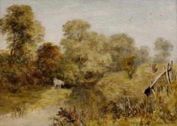 Landscape (1852) | John Brett | oil painting
